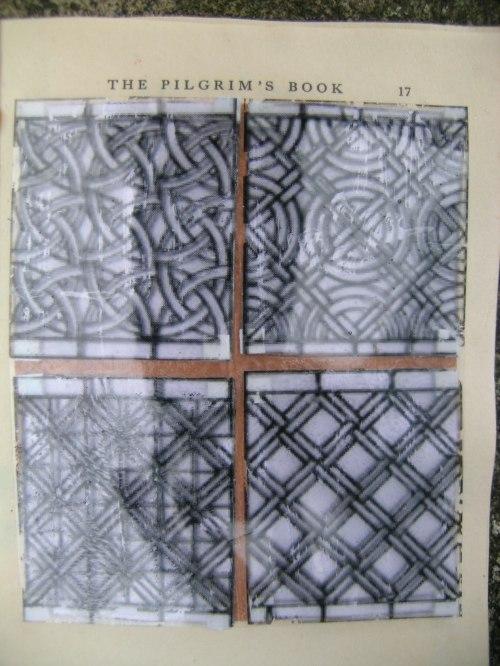 Geometric glass pattern transfer 2