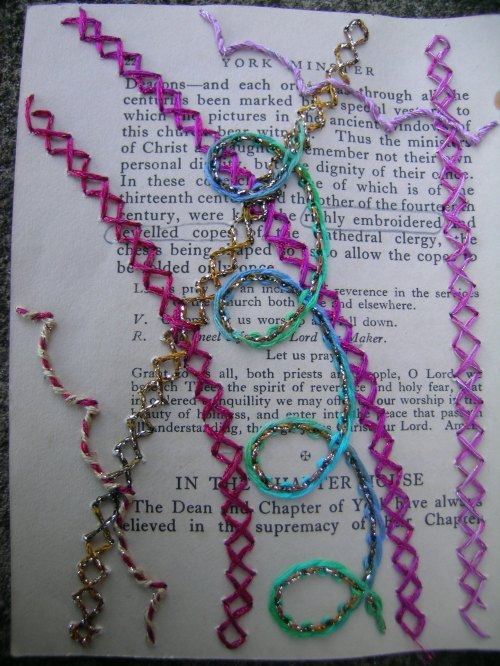 Richly embroidered page 1
