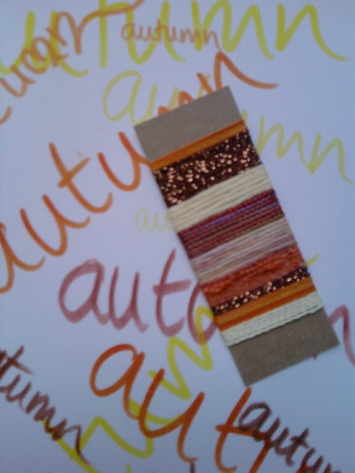 Wrapped threads - art journals 8