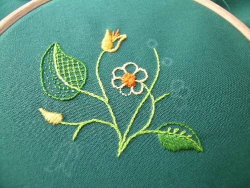 Miniature embroidery 1
