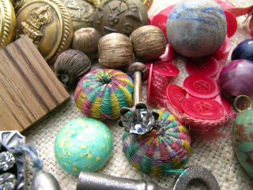 Button box treasures 8