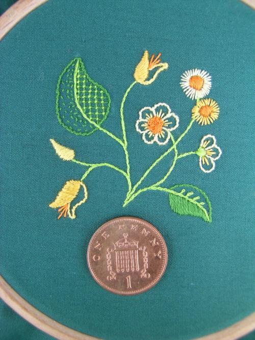 Miniature embroidery 6