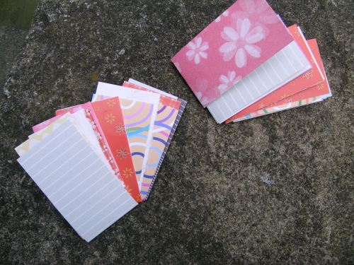Cuff book pages