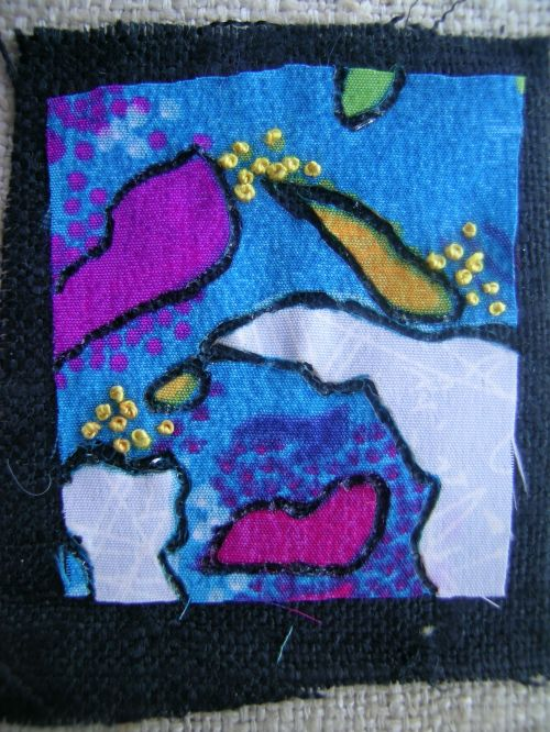 Melted fabric experiments 9