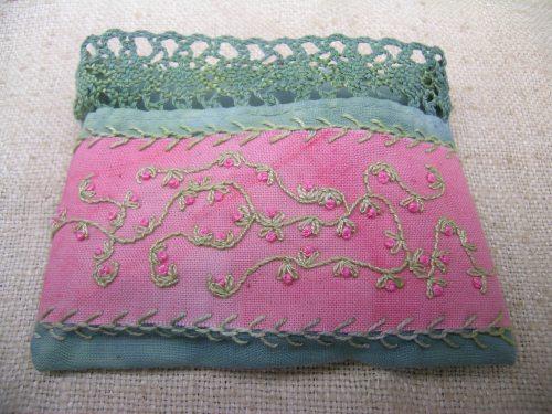 Fuchsia's sleeping bag 1