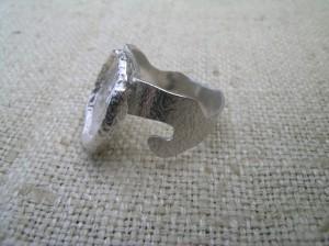 silver acorn ring