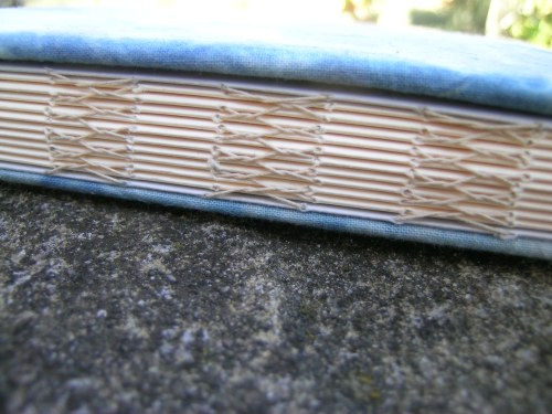 French link stitch indigo book 1