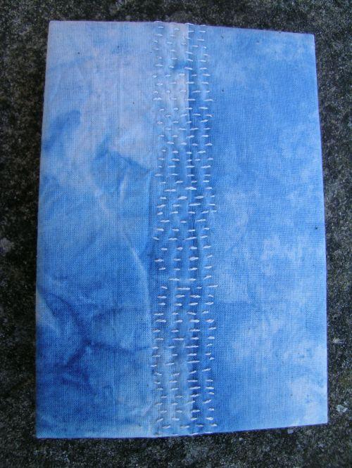 French link stitch indigo book 4