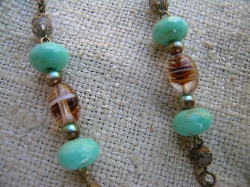 Turquoise drop necklace 1