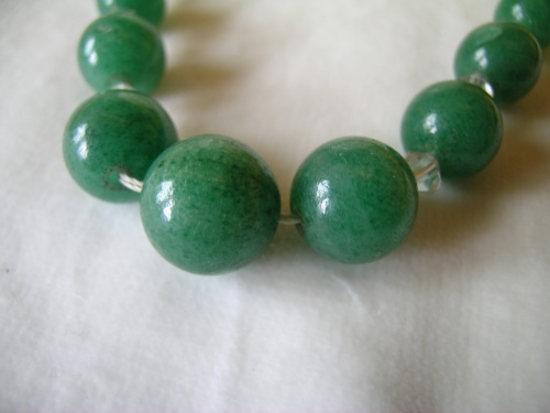 Green quartz necklace 2