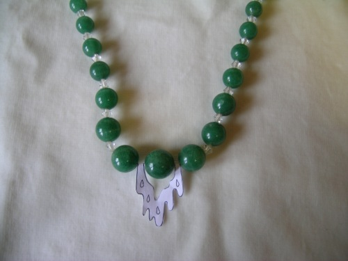 Green quartz necklace 3