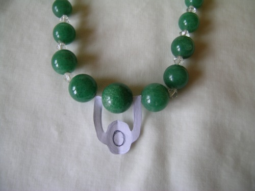 Green quartz necklace 5
