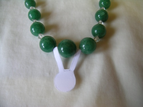 Green quartz necklace 7