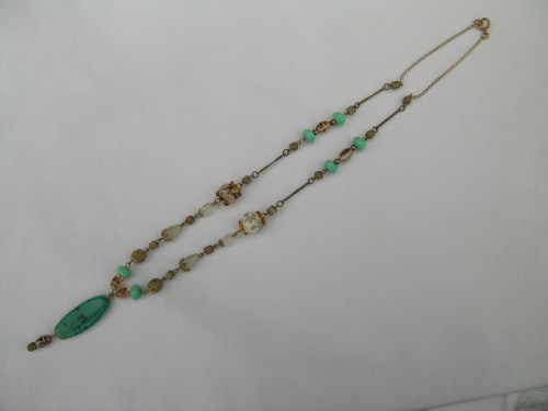Turquoise drop necklace 4