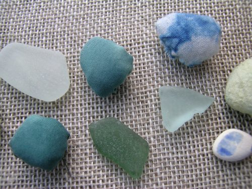Travelling book sea glass 3