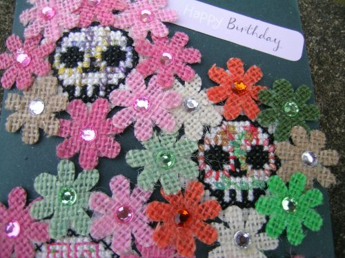 Day of the Dead birthday card 1