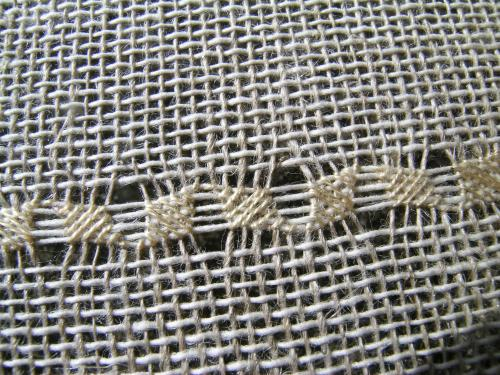 Pulled thread sampler border 2