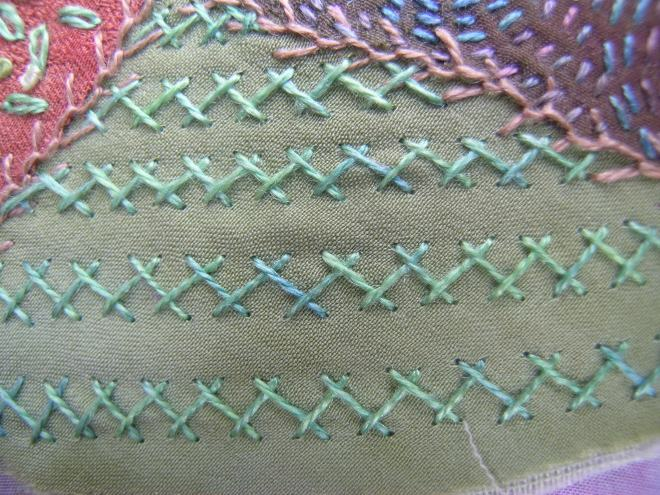 Crazy patchwork bead 3