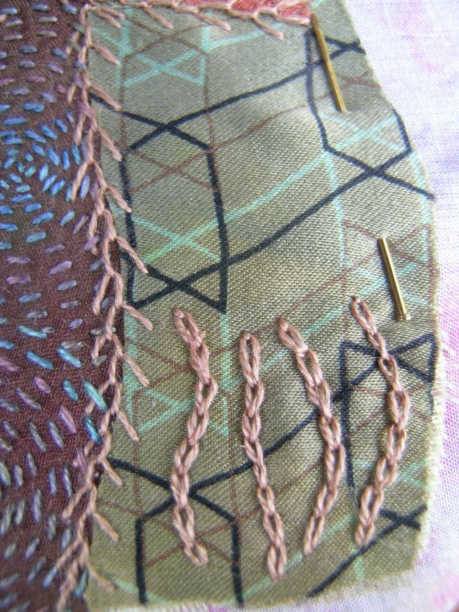 Crazy patchwork bead 4