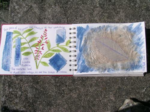 Travelling book indigo 1