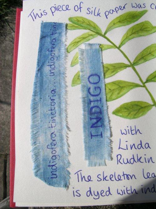 Travelling book indigo 3