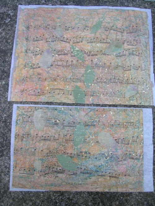 Fused paper fabric 1