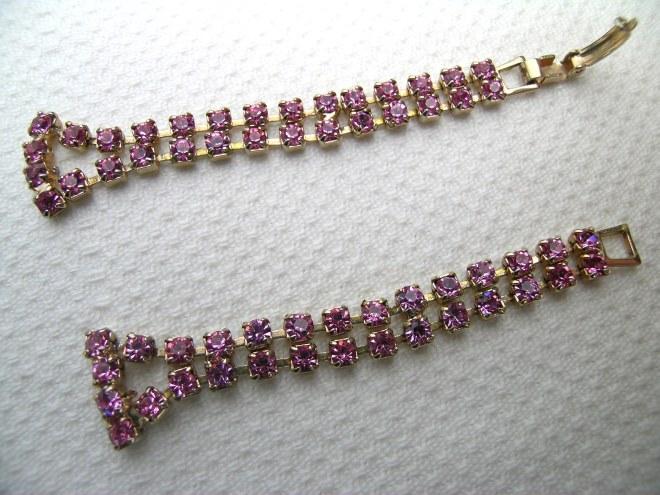 Pink corsage bracelet 1