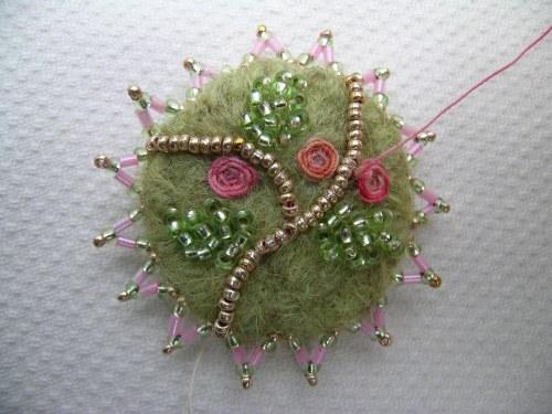 Pink corsage bracelet 4