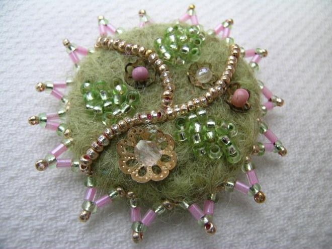 Pink corsage bracelet 5