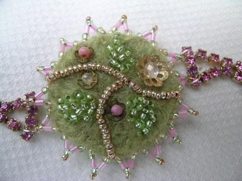 Pink corsage bracelet 6